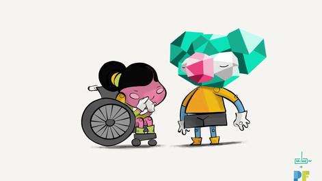 Inclusive Playgrounds   Character Design   PFAA