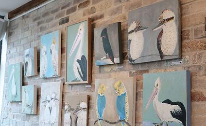 Kayapa Creative Studio. Girdlers. Exhibitions. Walls. Dee Why Beach Front. Northern Beaches. Sydney. Art. Cafe. Restaurant. Locals. Dee Why. Rachel Carroll