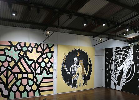 Kayapa Creative Studio. Brick It Up. Street Art. Art. Exhibition. Northern Beaches. Sydney.