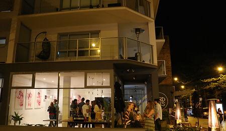 Kayapa Creative Studio. Girdlers. Exhibitions. Walls. Dee Why Beach Front. Northern Beaches. Sydney. Art. Cafe. Restaurant. Locals. Dee Why. Francis Walt