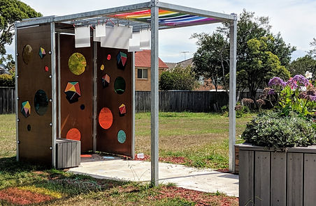 Kayapa Creative Studio. Play for All Australia. Character Design. Inclusive Playgrounds. Northern Beaches. Sydney. Design. Installations. Community.