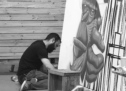 Kayapa Creative Studio. Brick It Up. Street Art. Art. Exhibition. Northern Beaches. Sydney. M-Lon