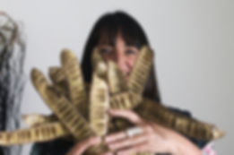 Catriona Pollard, fibre artist, Sydney artist, Sculptures, nature, photography, Kayapa Creative Studio