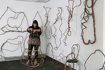 Catriona Pollard, fibre artist, Sydney artist, Sculptures, nature, photography, Kayapa Creative Studio