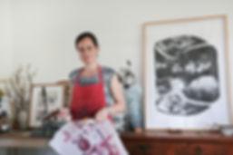 Sarah Montgomery. Artist. Sydney Road Gallery