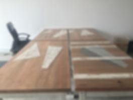 Tobias & Tobias. Table. Art. Wood. M-Lon