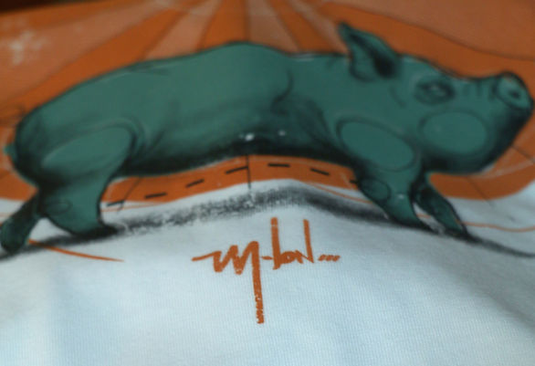 Kayapa Creative Studio. M-Lon. Mad Mex. Sydney. T-Shirts