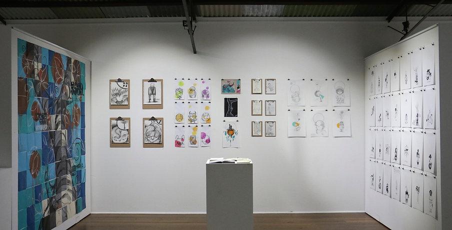 Kayapa Creative Studio. Curl Curl Space. Creative Space. Norhern Beaches. Exhibitions. Art.