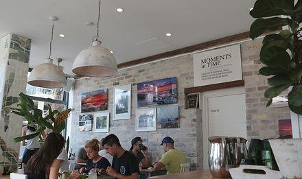 Kayapa Creative Studio. Girdlers. Exhibitions. Walls. Dee Why Beach Front. Northern Beaches. Sydney. Art. Cafe. Restaurant. Locals. Dee Why. Ivan Slade
