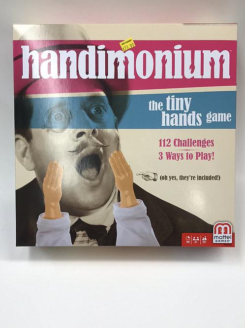 Handimonium - the tiny hands game