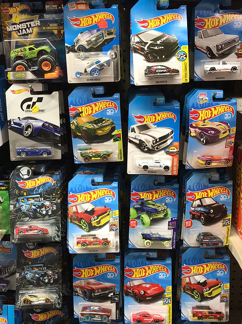 Assorted Hot Wheels each