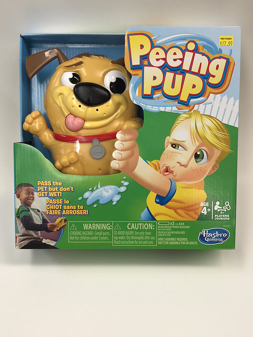 Peeing Pup Board game