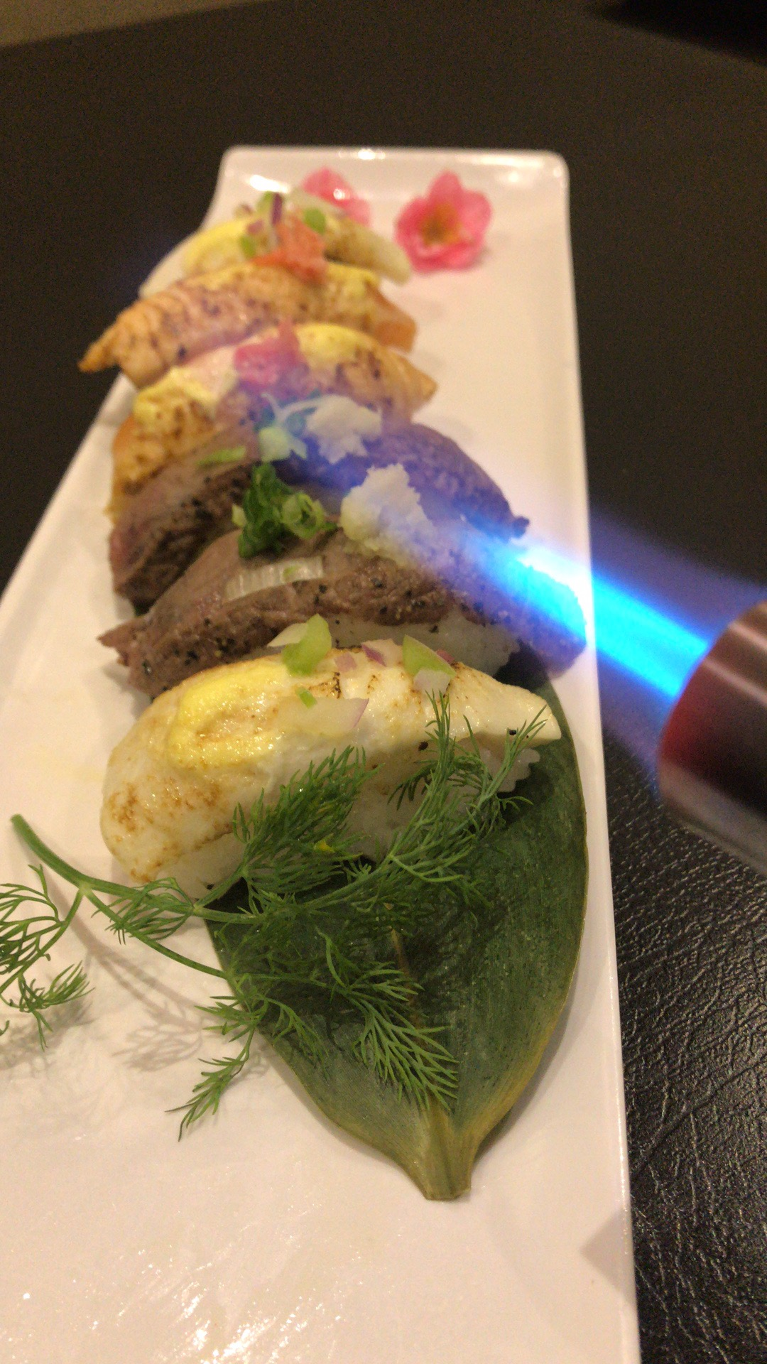Torched Sushi