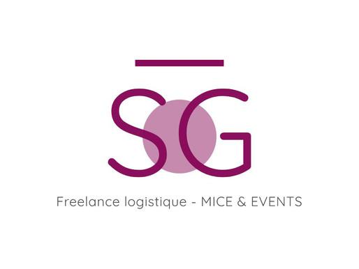Séverine GROS, freelance événementielle présente son nouveau logo