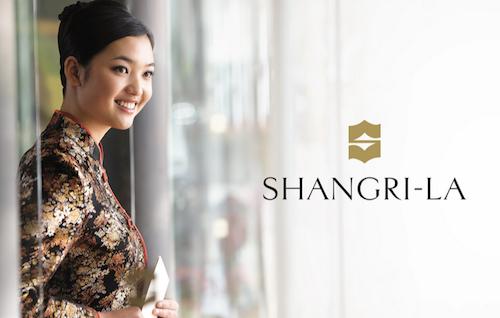 Nouveau logo pour le groupe Shangri La Hotels and Resorts
