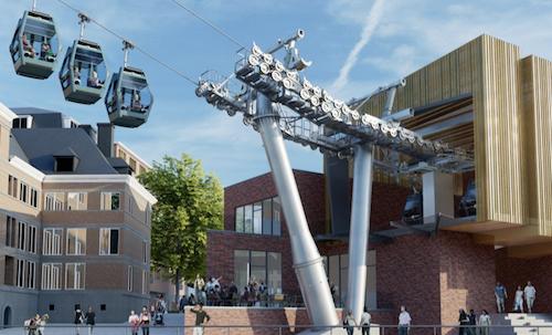 NAMUR – Belgique: nouveau téléphérique pour accéder à la citadelle