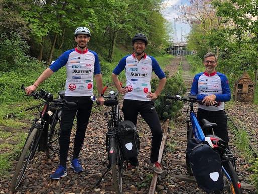 DZK: à la conquête de l'Est… en vélo!