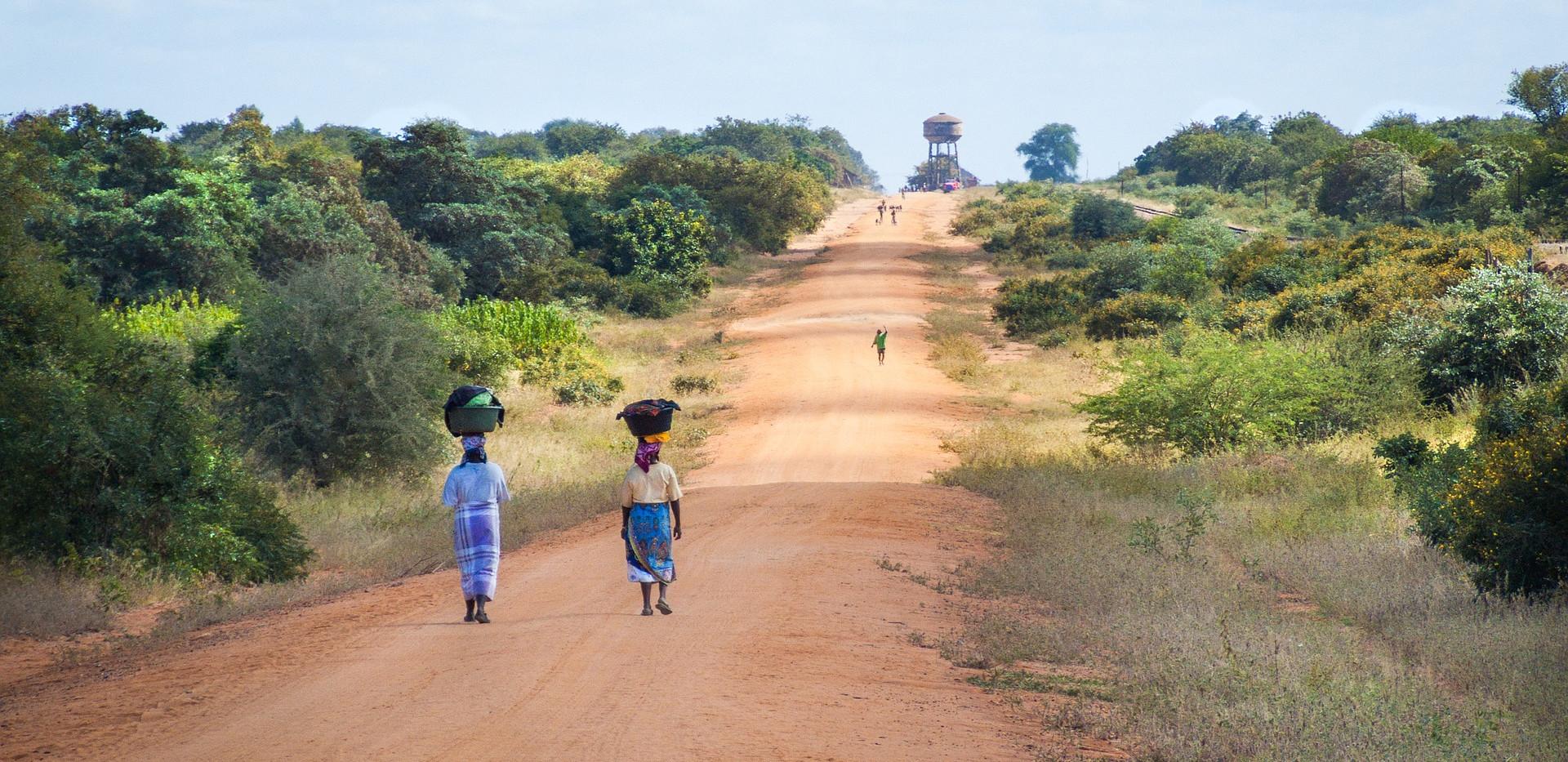 Mozambique _2_african-women-walking-alone