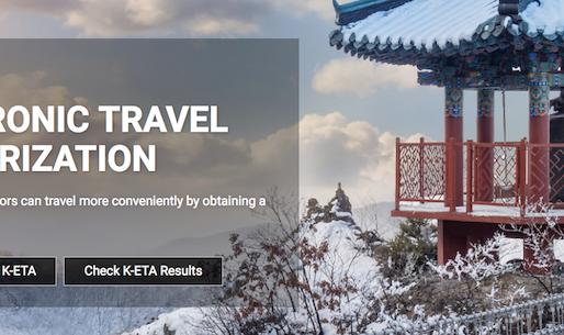 Corée du Sud: K-ETA, autorisationélectronique à partir de septembre 2021