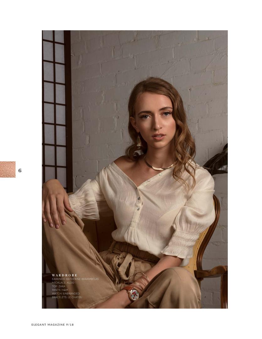 Bronze Ambition Elegant Sept Issue