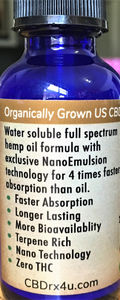 SUNMED CBD Water Soluble Tincture -Review