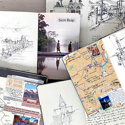 Travel Sketchbooks
