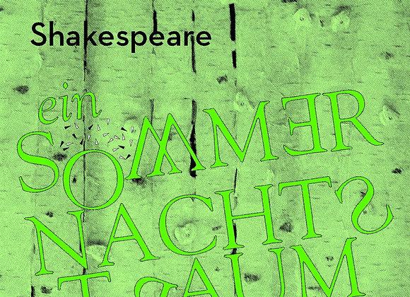 """DVD 2015 Shakespeare """"Ein Sommernachtstraum"""""""