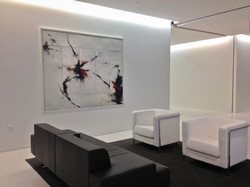 NYC corporate waiting area
