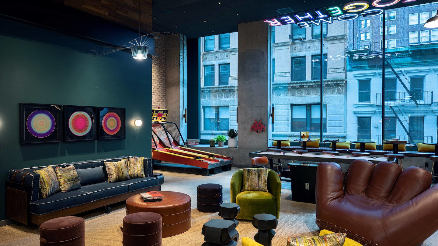 Moxy NYC Downtown hotel