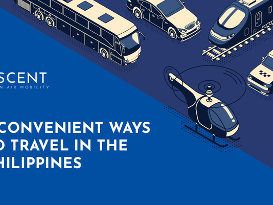5 Convenient Ways to Travel in the Philippines