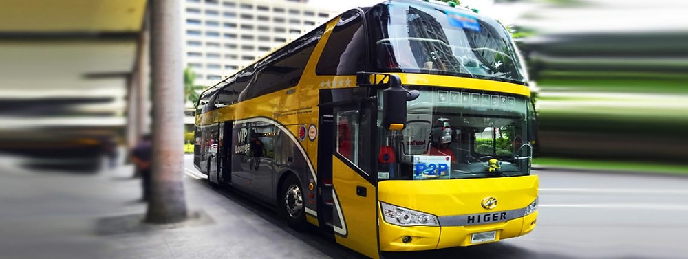 Premium Point-to-Point Bus - 5 Ways to Travel in Manila