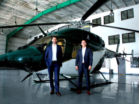 On-demand helicopter service, Ascent, to take off in Thailand to skip traffic and avoid crowds