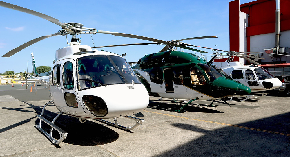 Ascent helicopter fleet - 5 Ways to Travel in Manila