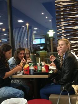 Hard earned McDonalds!