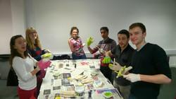 Glove Making Social