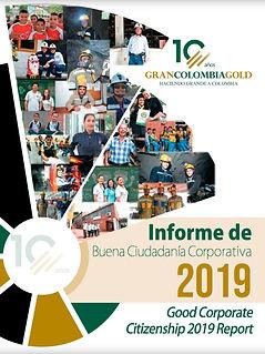 INFORME DE BUENACIUDADANÍA CORPORATIVA 2019