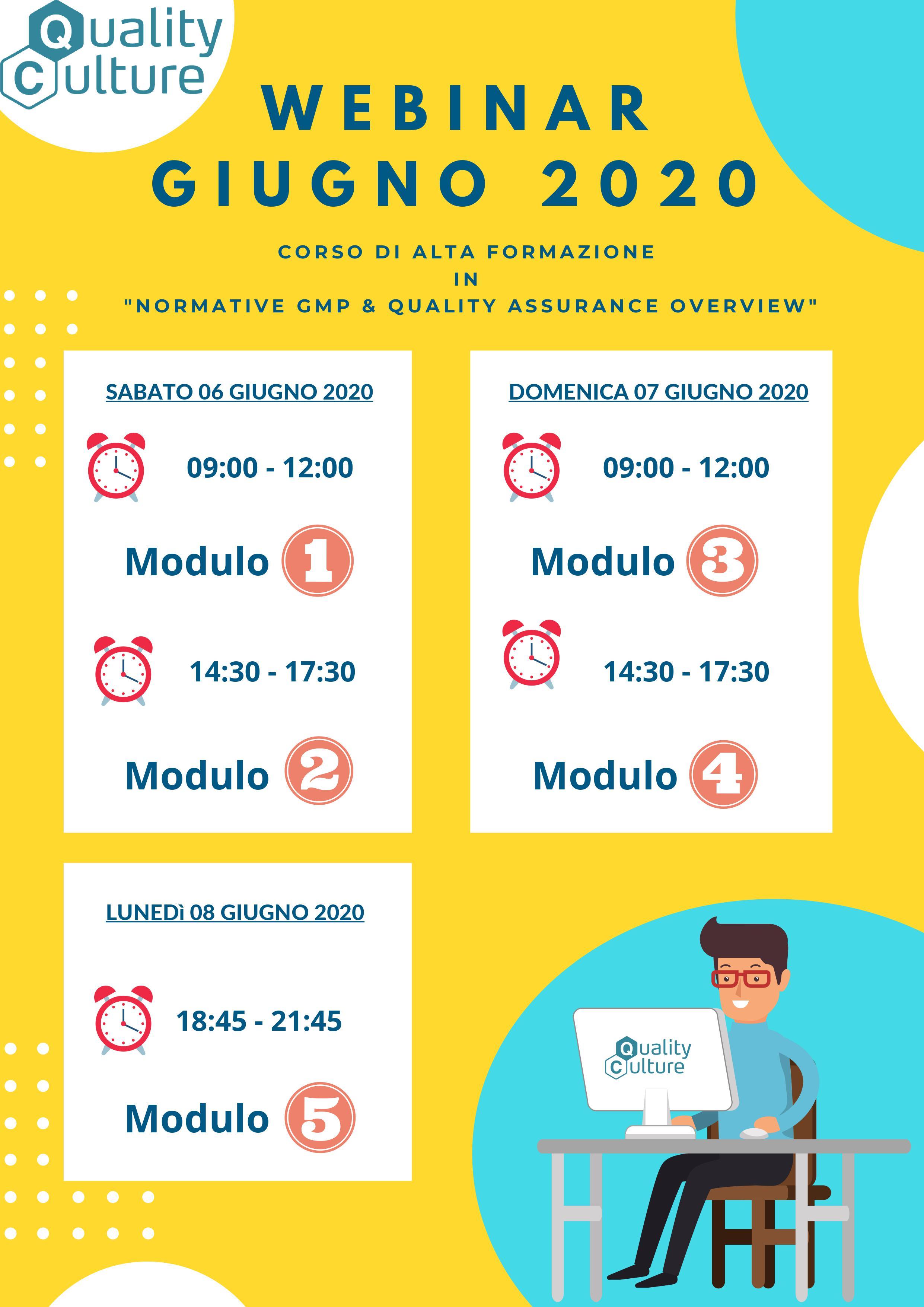 Planning Giugno 2020