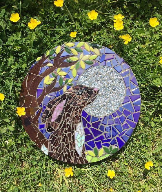 Moon Hare Mosaic