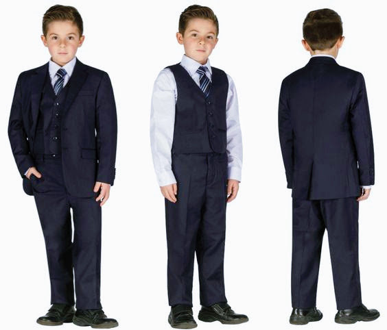 Veston Cravate Bleu Marin