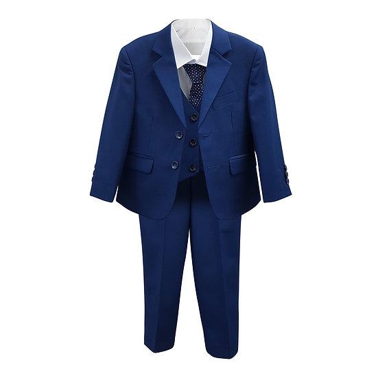 Veston Cravate Bleu Royal