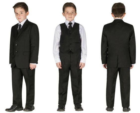 Veston Cravate Noir Classique