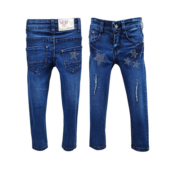 JEANS FILLE 2-6X