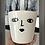 Thumbnail: White Ceramic Pot 'Betty'