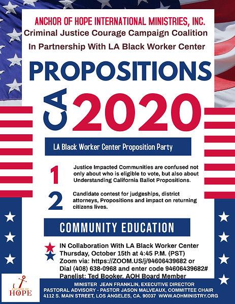 Voter Proposition-Black Worker Center .j
