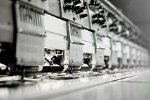 Fabric Machinery in Factory