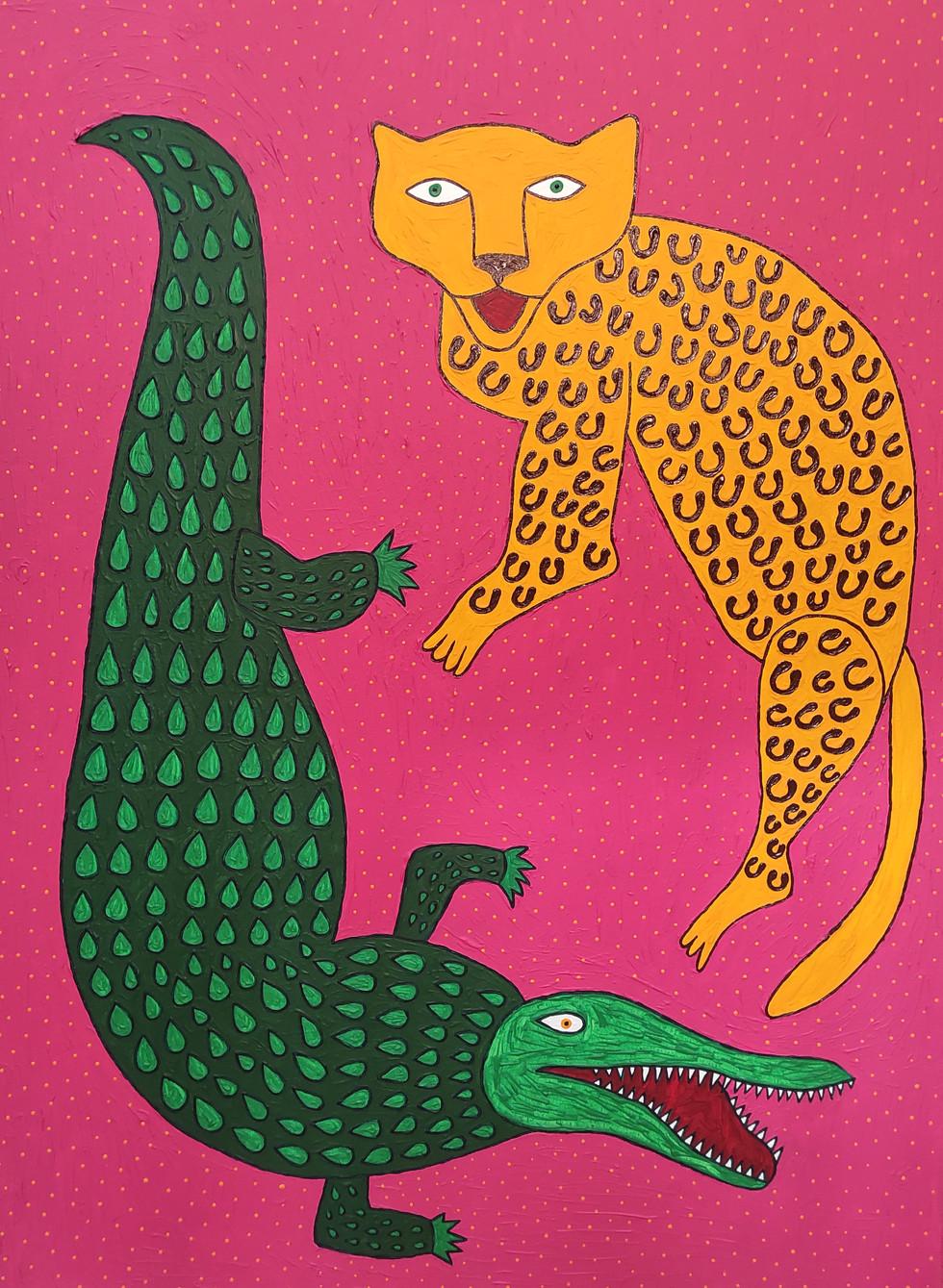 Леопардові плями крокодилячі сльози