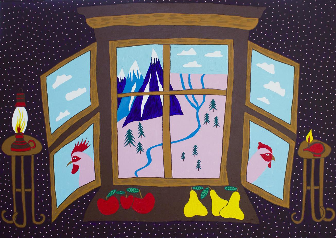 Прозорце