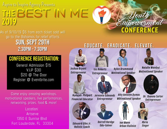 Best in Me Conference By Aspire to Inspi