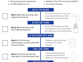 Protect your Cooling System with these 5 Lay-Up Steps