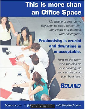 Office Space Ad